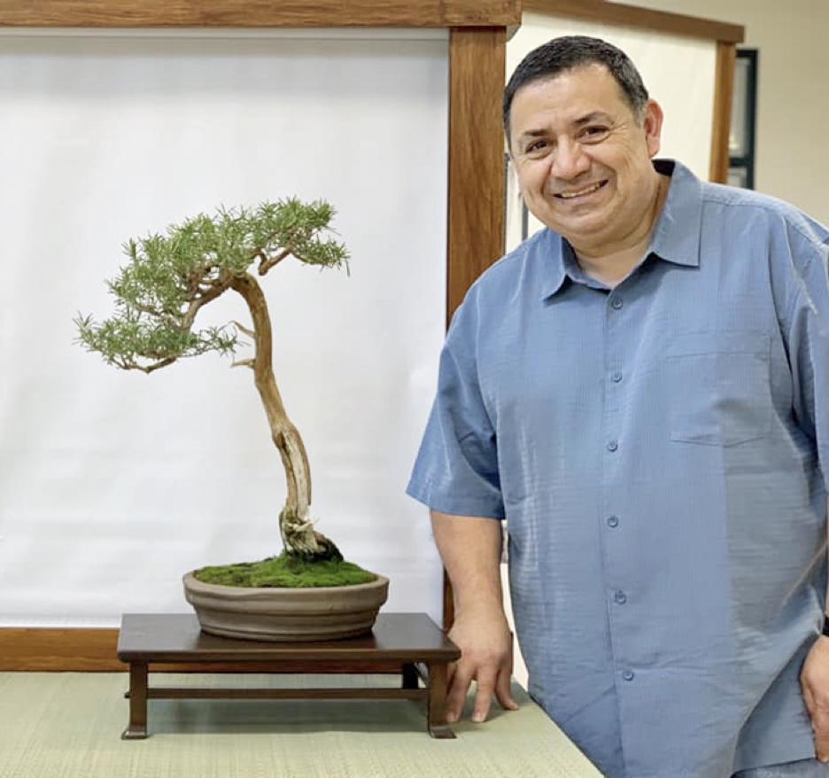 Meeting Presenter Juan Cruz from Midori Bonsai Club